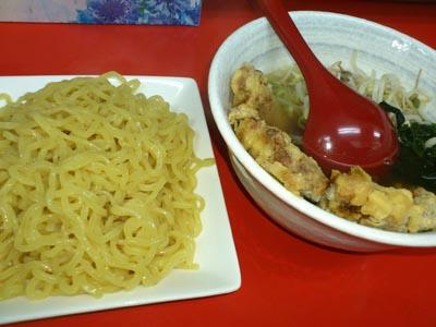 ロースつけ麺久米