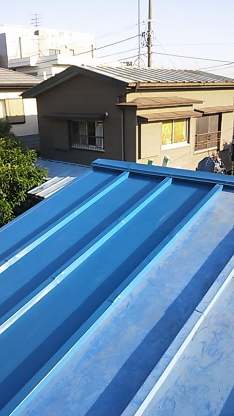 平塚市 木造平屋 台風により屋根の一部飛散 3