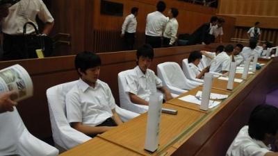 子ども県議会20104