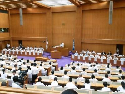 中学生県議会1