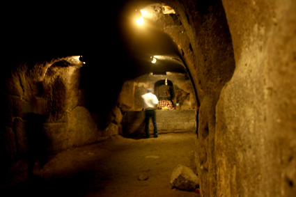ゴアガジャ 洞窟内