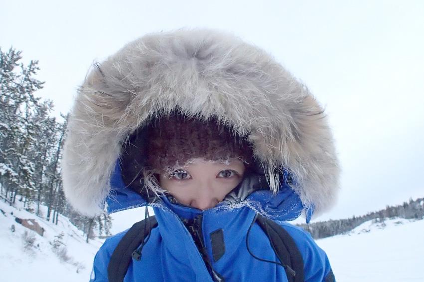 寒波も笑ってICEマスカラ! -36℃に耐える極北防寒着、大解説。