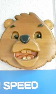 クマの看板