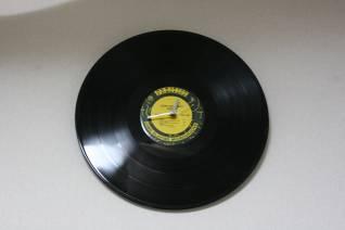 レコード時計