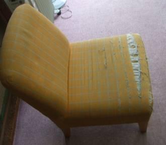 椅子の張替え - 作業前