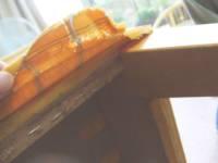 椅子の張替え - 剥がし作業