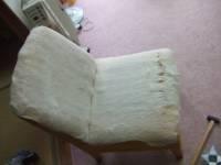 椅子の張替え - 全部剥がした