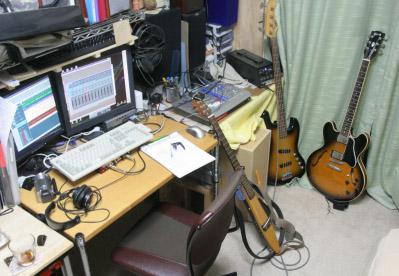 スタジオ部屋