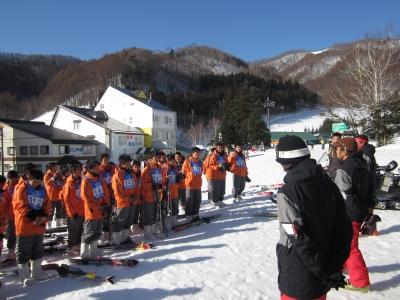 スキー実習�