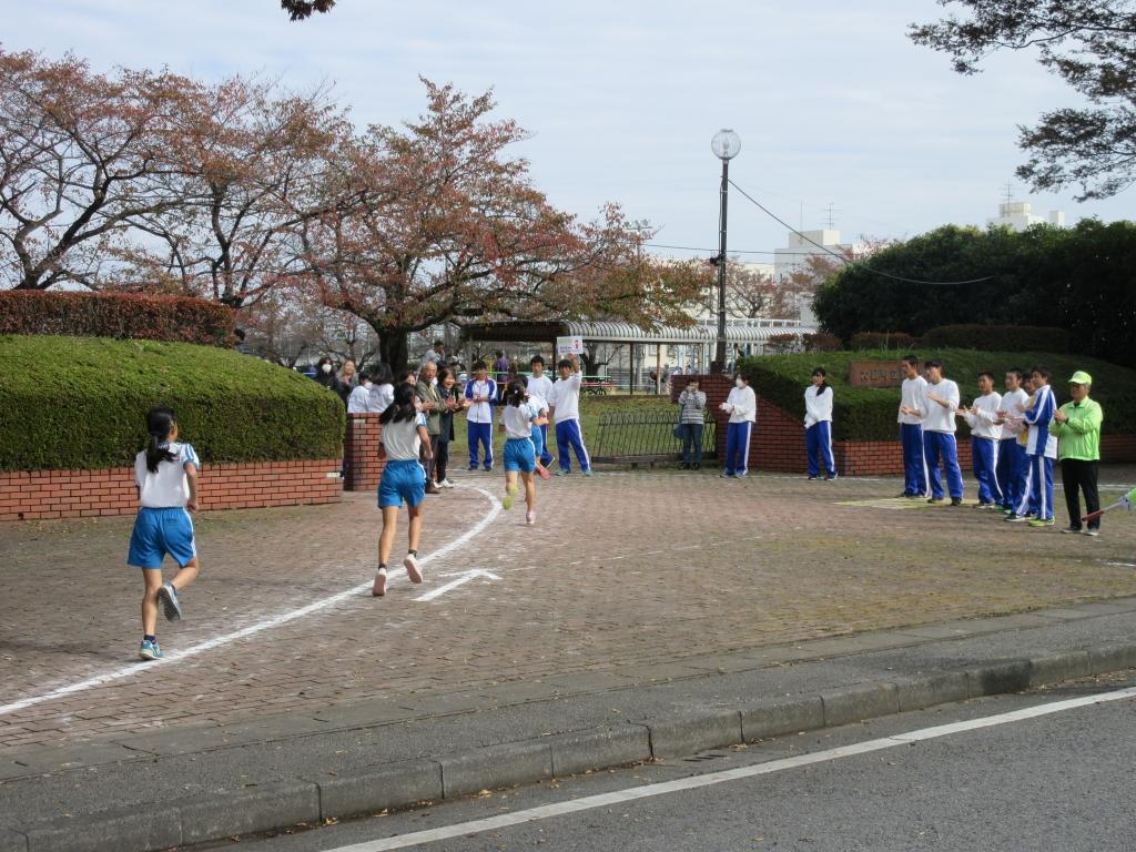 大泉東小マラソン大会