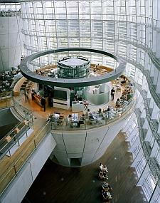 サロン・ド・テ・ロンド  国立新美術館