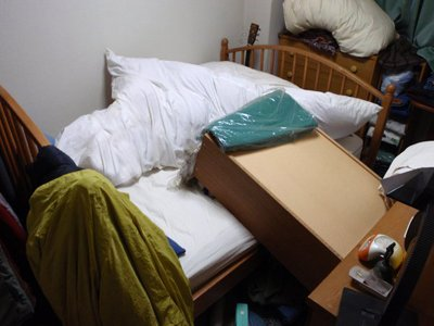 寝室の状態
