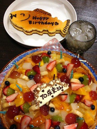 バースーデーケーキ!
