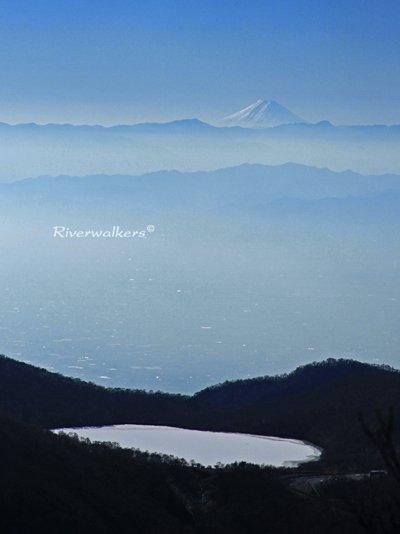 雲上の富士山