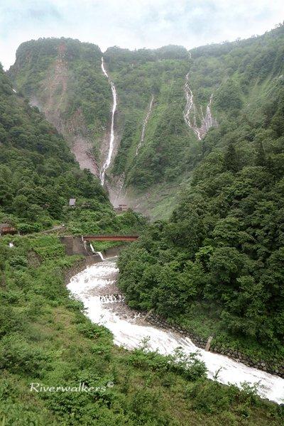ハンノキ滝とソーメン滝