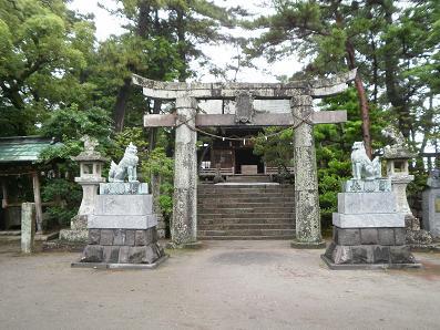 猛嶋神社1