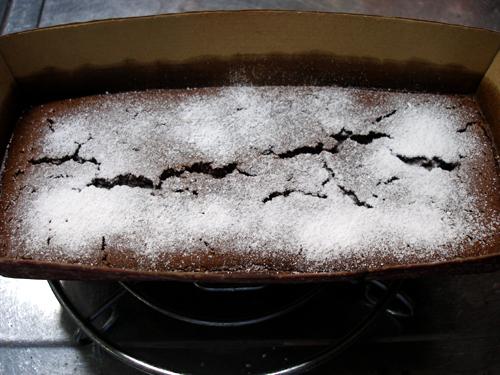 チョコレートケーキ成功!