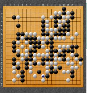 王座戦3 井山勝ち
