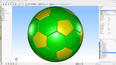 OneCNC_サッカーボール