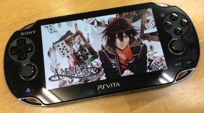 AMNESIA V Edition起動画面