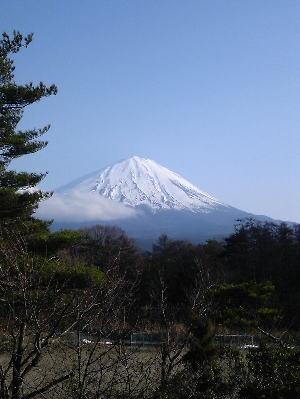 河口湖からの富士山