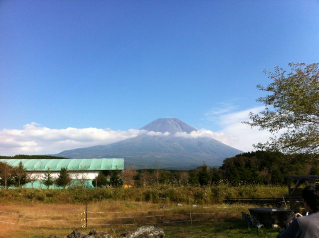 フェアリーテイルから見た富士山