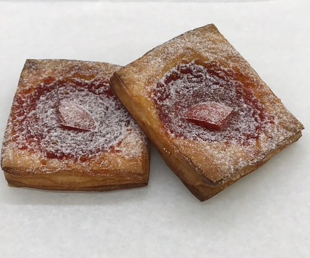 高知ドコモショップ 日高村 ベーカリーフリーダム パン シュガートマト トマトジャム デニッシュ