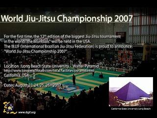 World Jiu-Jitsu Championship 2007