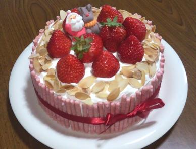 クリスマス クリスマスケーキ 手作り いちごポッキー 苺