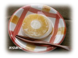 パイナップルミルク寒天