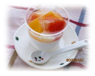 フルーツミルクプリン