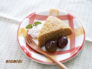 紅茶のジューシーケーキ