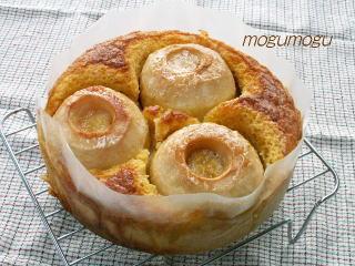 まるごと林檎ケーキ
