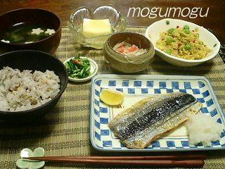 秋刀魚定食