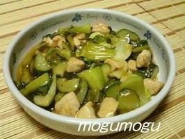 鶏と野菜の甘酢炒め