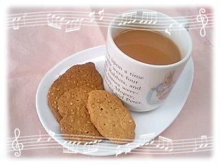 お茶の時間♪