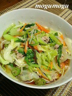 野菜醤油ラーメン