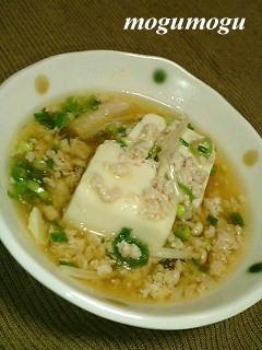 そぼろ湯豆腐2