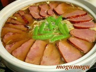 焼き豚ラーメン鍋