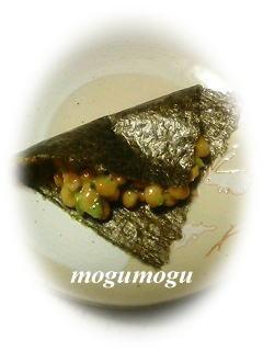 納豆の海苔包み