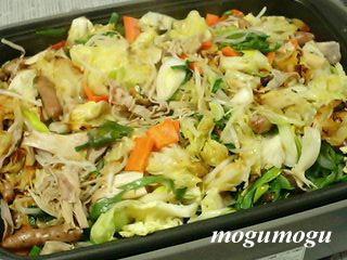 野菜と豚肉のホットプレート蒸し