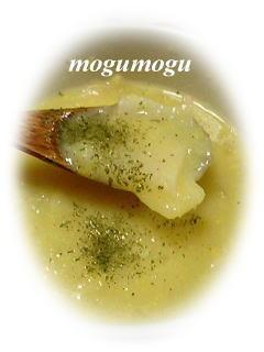 長芋入りコーンスープ