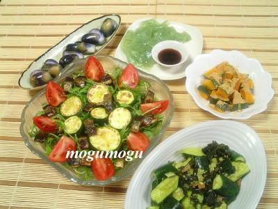 秋刀魚サラダ