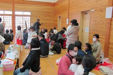 吉備津彦神社の稚児の着付けしました