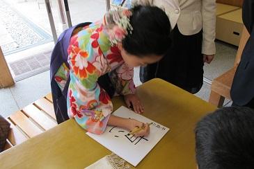 吉備津彦神社の十三参り