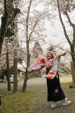 桜の花も咲き最高です
