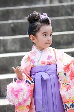 吉備津彦神社で七五三撮影
