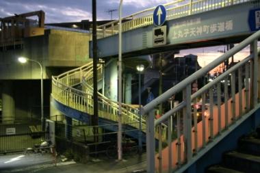 上丸子天神町歩道橋