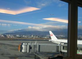 大阪空港サクララウンジから