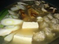 鶏鍋スープ炊き